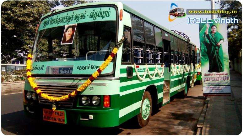 TNSTC Villupuram Tiruvallur region