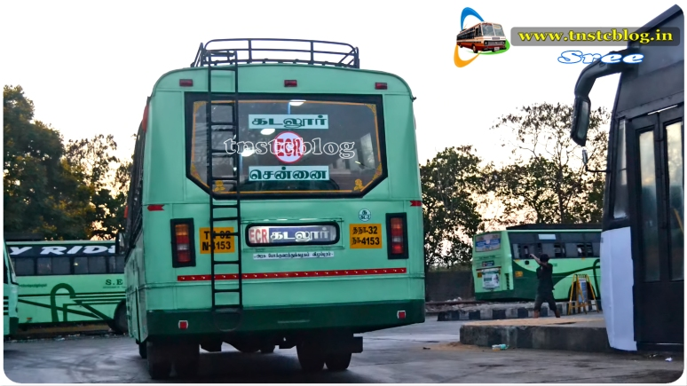 TN32 N 4153 of Cuddalore 2 Depot