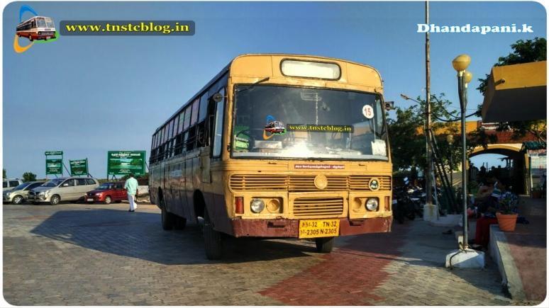 TN32 N 2305 of Chidambarm 2 Depot Route Chidambaram - Pitchavaram.
